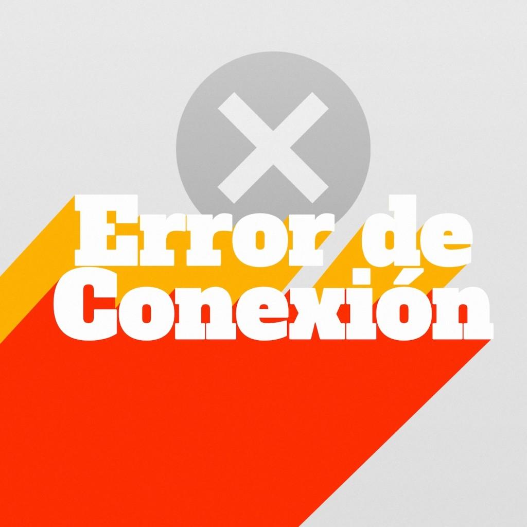 Logo Error de Conexión